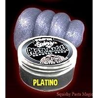 PASTA SQUISHY - PASTA MAGICA - COLORE PLATINO - CRYSTAL GEMS