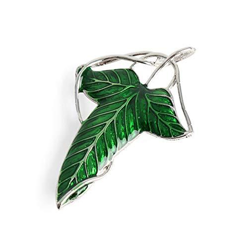 age Elf Green Leaf Halskette Anhänger ()