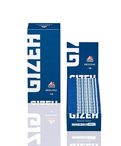 Gizeh cartine Original Blue - 50 Libretti