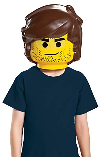 (LEGO Ninjago Movie 26784-15L Lego Movie 2 Rex Dangervest Maske, gelb, One Size)