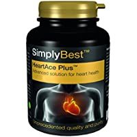 HeartAce Plus Corazón - ¡Bote para 2 meses! - Apto para veganos - 120 Comprimidos - SimplySupplements