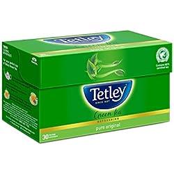 Tetley Green Tea, Regular, 30 Tea Bags