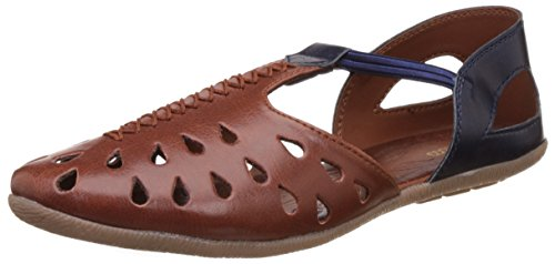 BATA Women's Felice Brown Fashion Sandals - 6 UK/India (39 EU)(5513831)
