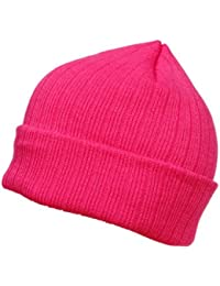 'Bonnet d''hiver, Bonnet tricoté en laine, Bonnet beanie cap, couleur uni'