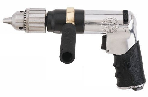 Chicago Pneumatic CP789HR 1/2-Inch Super Duty Reversible Air Drill by Chicago Pneumatic - Duty Reversible Air Drill