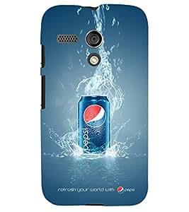 PRINTSHOPPII PEPSI Back Case Cover for Motorola Moto G X1032::Motorola Moto G (1st Gen)