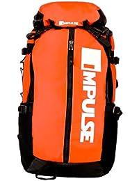 Impulse Waterproof Travelling Trekking Hiking Camping Bag Backpack Series 40 litres Orange Climber Rucksack