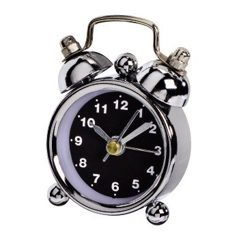 Price comparison product image Hama 123186 Nostalgia Alarm Clock Mini Black