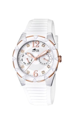 8fc260441767 Lotus 15731 2 - Reloj analógico de cuarzo para mujer con correa de ...