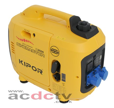 Kipor IG 2000 230V Petrol Generator by Kipor