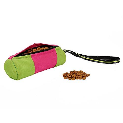 Hunde Leckerli Futter Tasche Tasche für Hund Training-Einfache Zugriff zu Leckerlis & Training Zubehör, Freisprechanlage Puppy Trockenfutter und Toys Tote