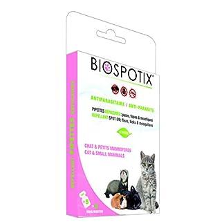 Biospotix 100 Percent Natural Flea and Tick Spot-on Repellent Biospotix 100 Percent Natural Flea and Tick Spot-on Repellent 41GHA46PlxL