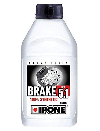 IPONE S1901A Liquide de Frein Dot 5.1 100% Synthèse - Bidon de 500 ML