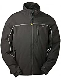 Caterpillar CAT C440 Veste imperméable Soft Shell avec Storm Blocker Technologie - Noir