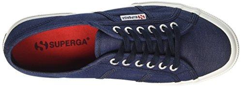 Superga 2750-Italianshirt Cotm, Baskets Basses Mixte Adulte Bleu (Oxford Blue Indigo)