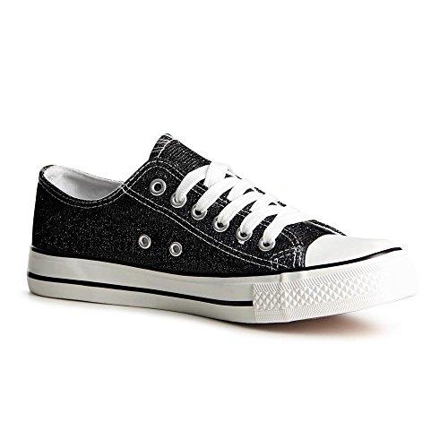 Topschuhe24 Sneaker Donna Nero (nero)