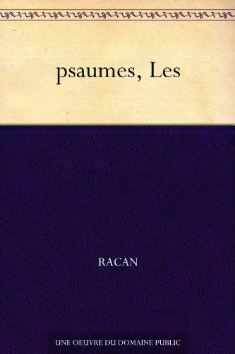 Couverture du livre psaumes, Les