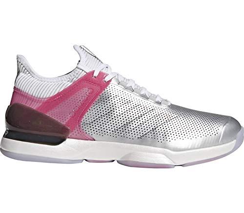 adidas Herren Adizero Ubersonic 2 Ltd Tennisschuhe Silber (Msilve/Reapnk/Ftwwht) 43 1/3 EU