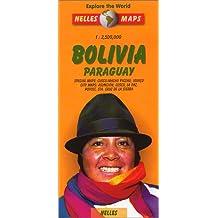 Bolivia Paraguay : 1/2 500 000