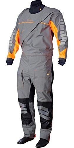 Crewsaver Phase 2 Drysuit in Grey/Orange inc UNDERSUIT 6923 Sizes- - Large (Trockenanzug 2)