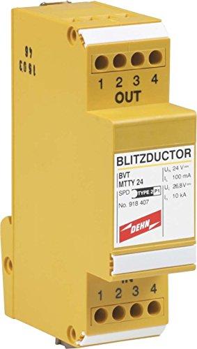 Dehn+Söhne ÜS-Ableiter Blitzductor VT BVT MTTY 24 Kombi-Ableiter für Informations-/MSR-Technik 4013364095335