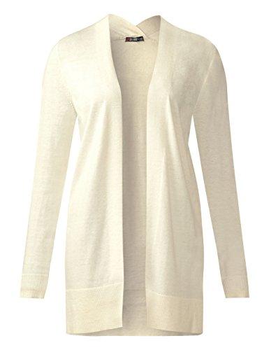 Street One, Cardigan Donna Beige (Creamy White Melange 11158)