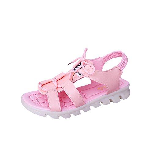 Peep-toe simple étudiant la mode Lady Sandals plates/loisirs coréen anti-dérapant plat sandales B