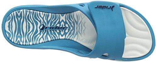 Lunar Key Viii, Chaussures de Plage et Piscine Femme Bleu - Blue (Blue 21308)
