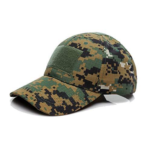 Imagen de qmfive sombrero aire libre del sombrero de la protección solar  para el acampamento táctico ... 1a57cf2598d