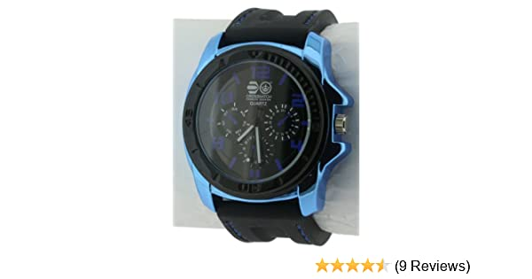 Crosshatch Men s Quartz Watch with Black Dial Analogue Display and Black  Silicone Strap CRS31 A  Amazon.co.uk  Watches e81afdc9a6c