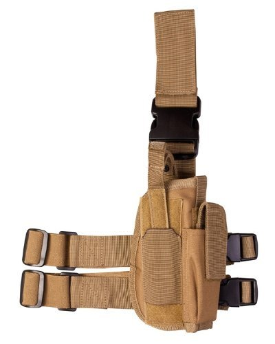 Tactical Leg Holster-Coyote by Kombat UK