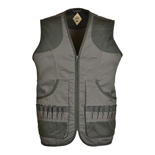 Idaho Vliestapete Ouverture Jagd Weste Weste Gr. L, Grün - Olive Green Skeet Shooting Vest