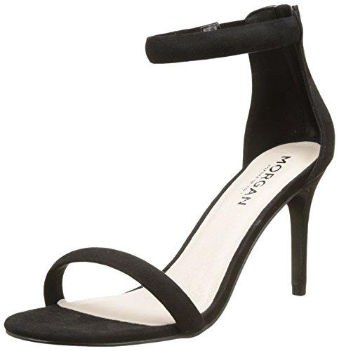 Morgan 1711BASSAA Sandali con Cinturino alla Caviglia Donna Nero Noir