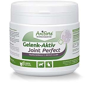 AniForte Gelenk Aktiv Teufelskralle Gelenkpulver für Hunde und Katzen 250g - 100% Naturprodukt Gelenke Pulver, Hohe Akzeptanz beim Hund und Katze, Pulver statt Kapseln oder Tabletten