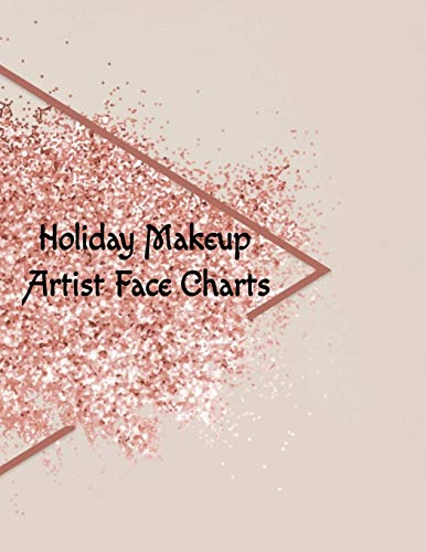 Zoom IMG-1 holiday makeup artist face charts