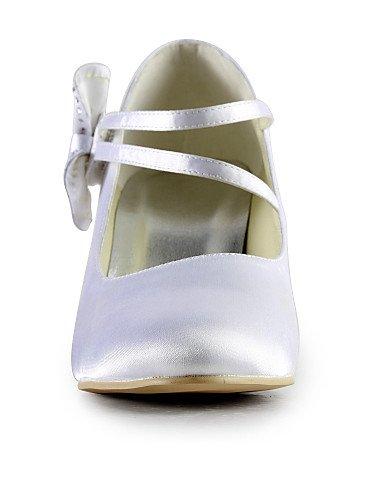 WSS 2016 Chaussures de mariage-Noir / Bleu / Jaune / Rose / Violet / Rouge / Blanc / Argent / Or / Beige / Amande-Mariage / Habillé / Soirée & 2in-2 3/4in-almond