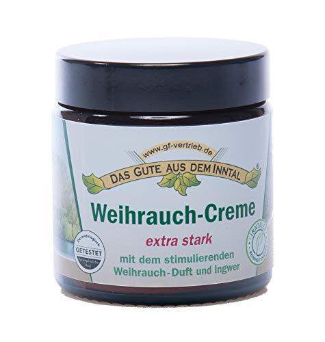 Inntaler Naturprodukte | Weihrauch Creme | 110 ml | Parfümfrei