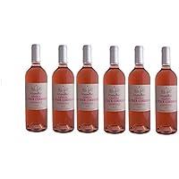 ROSE CHATEAU LA TOUR CORDOUAN - 2017-6 bouteilles - Bordeaux rosé Wine - 6 bottles Pack