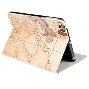 kwmobile Housse en cuir synthétique chic pour Apple iPad Mini en couleur souhaitée avec fonction support pratique et design