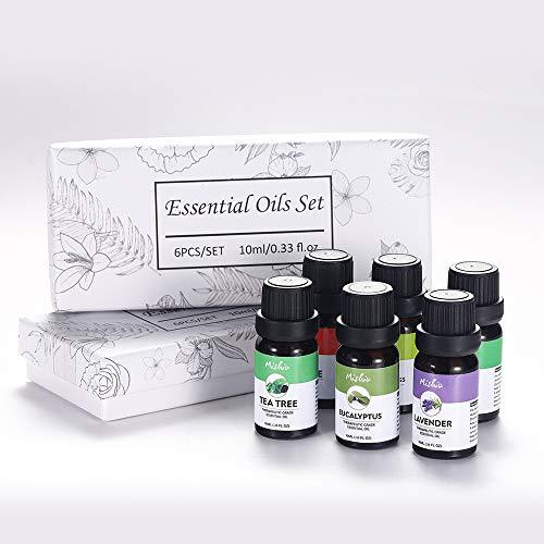 OAMORE Plant Aromatherapy Feuchtigkeitsspendende Hautpflegemassage Ätherisches Öl 6&8-teiliges Set (6) -