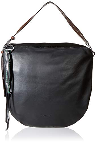 Liebeskind Berlin Damen Dive Bag Hobo Medium Schultertasche, Schwarz (Black), 4.0x41.0x41.0 cm -