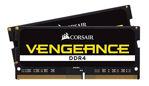 32GB (2x16GB) Corsair DDR4 SO-DIMM Vengeance, PC4-19200 (2400), non ECC non bufferizzato, CAS 16-16-16-39, Auto-OC, 1.2V