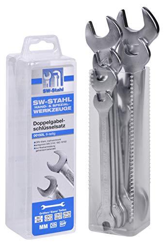 SW-Stahl 00150l Jeu de clé à fourche doubles