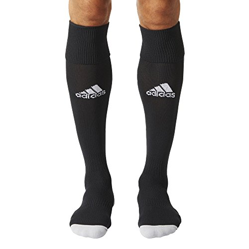 Adidas Men Milano 16 Socks (pair Of 1) - Black/White, Size 43 - 45