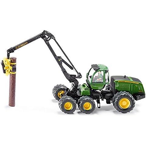 Siku 4059 John Deere - Grúa para troncos a escala
