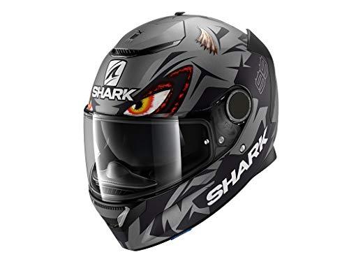 Shark Motorradhelm SPARTAN 1.2 LORENZO MAT GP AKA, Schwarz/Grau, XL