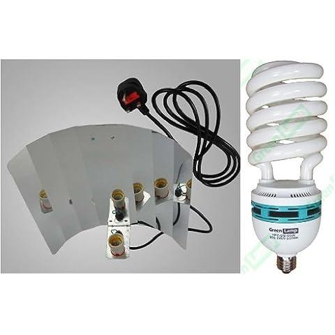 Green lamp-Attacchi YOYO 65 W, 5500 k CFL per coltivazione indoor