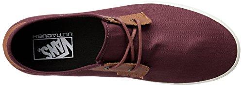 Vans Mn Michoacan Sf, Sneakers Basses Homme Rouge (Herringbone Twill Port Royale)