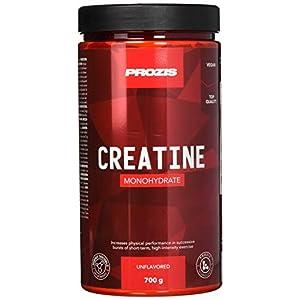 Prozis Creatine Monohydrate – Hochwertiges Ergänzungsmittel zur Verbesserung der physischen Leistungsfähigkeit, laborgetestet – Natürlich – 700 g