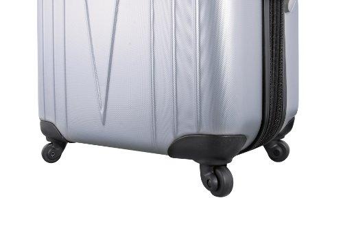 ... 50% SALE ... PREMIUM DESIGNER Hartschalen Koffer - Heys Core 4 WD Schwarz - Handgepäck Schwarz